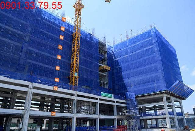Thi công cốp thép sàn tầng 10 - Block A 9 View Apartment
