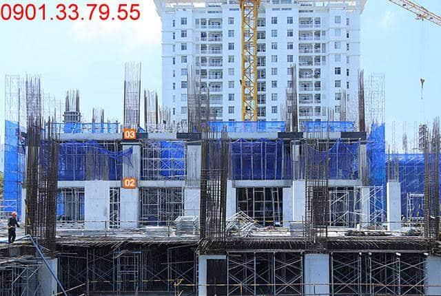 Hoàn thành đổ bê tông sàn tầng 3 - block Southern Sài Gòn Mia
