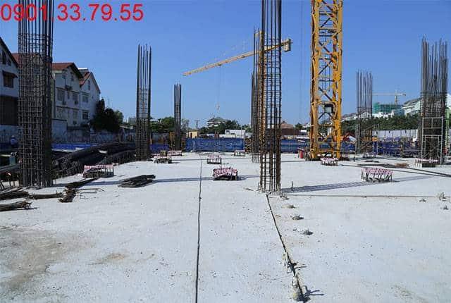 Hoàn thành đổ bê tông sàn tầng 1 - block Southern dự án Sài Gòn Mia