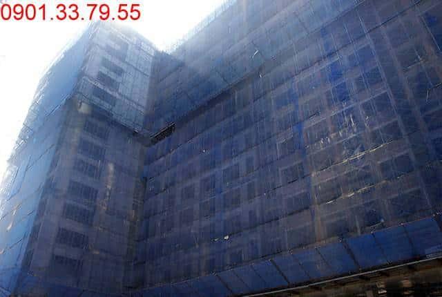 Tổng thể block A dự án Sky Center