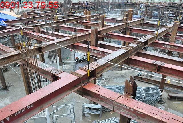 Thi công 60% sàn tầng B2 - block Southern Saigon Mia