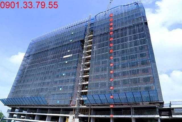 Thi công cột sàn tầng 19 Block A dự án Lavita Garden