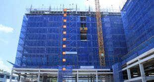 Thi công cốt thép sàn tầng 12 - Block C dự án 9 View Apartment Hưng Thịnh