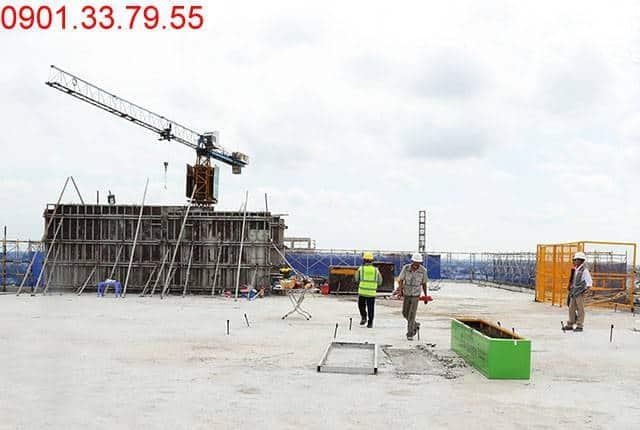 Đã cất nóc Block B dự án chung cư Lavita Garden Hưng Thịnh