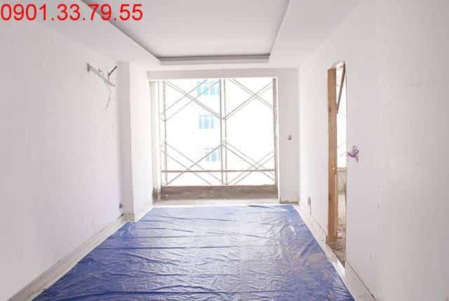 Bả sơn tầng 9 block A, B chung cư Sky Center Tân Bình