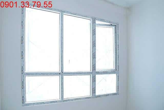 Lắp đặt cửa nhôm căn hộ đến tầng 9 - Block B căn hộ Florita Đức Khải