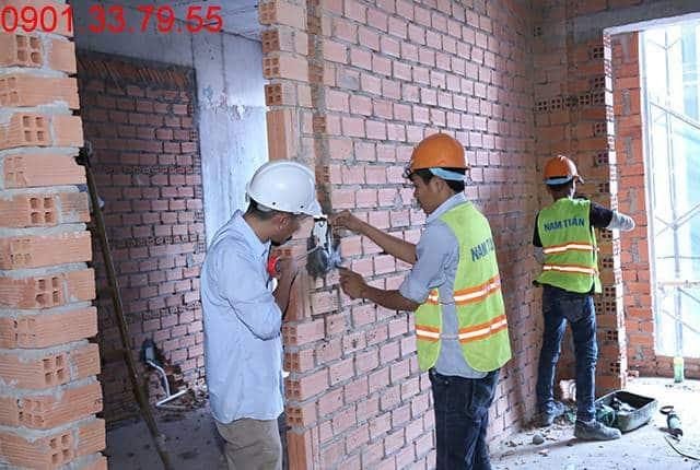 Thi công hệ thống M&E đến tầng 6 - Block C dự án Florita Hưng Thịnh