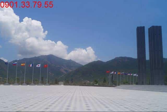 Quảng trường lớn GoldenBay khu đô thị Golden Bay City Cam Ranh