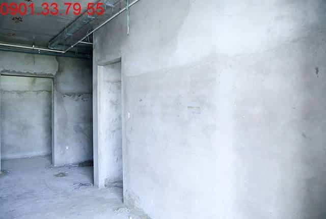 Thi công tô tường bao căn hộ đến tầng 7 - Block C chung cư Florita Hưng Thịnh