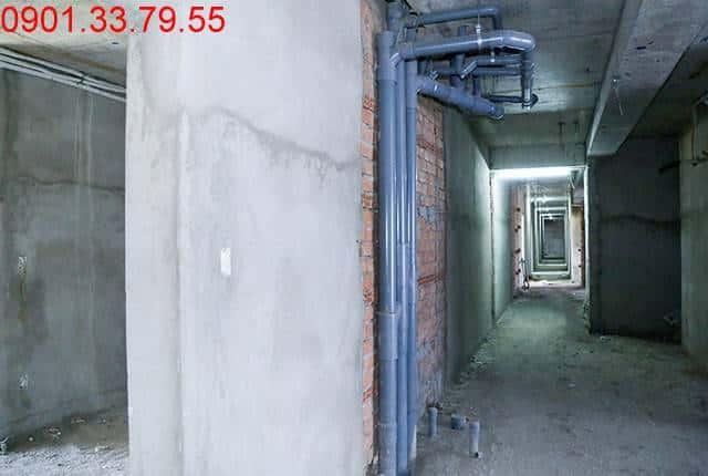 Thi công hệ thống cấp thoát nước đến tầng 8 - Block C dự án Florita Hưng Thịnh