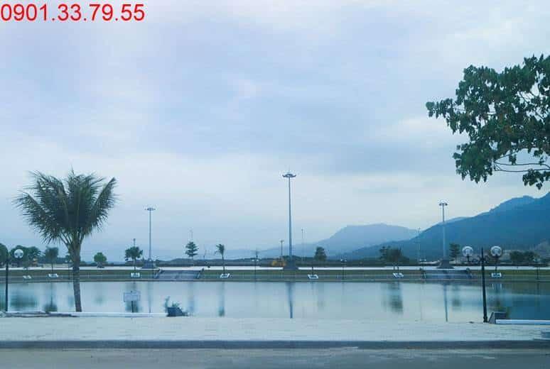 Hồ cảnh quan D17 dự án Golden Bay City Cam Ranh