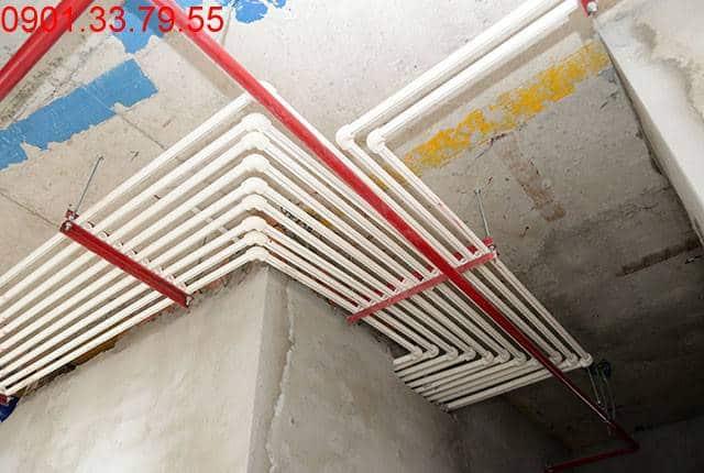 Thi công hệ thống M&E từ tầng 3 đến tầng 18 - Block C chung cư Florita Đức Khải
