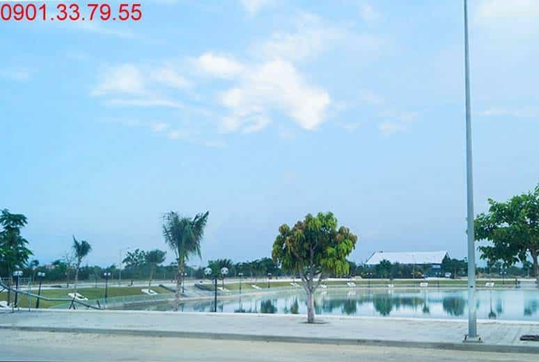 Hồ cảnh quan D17 khu đô thị Golden Bay City Cam Ranh
