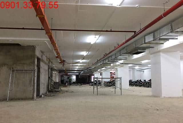 Công tác thi công tầng hầm dự án Melody Vũng Tàu Hưng Thịnh