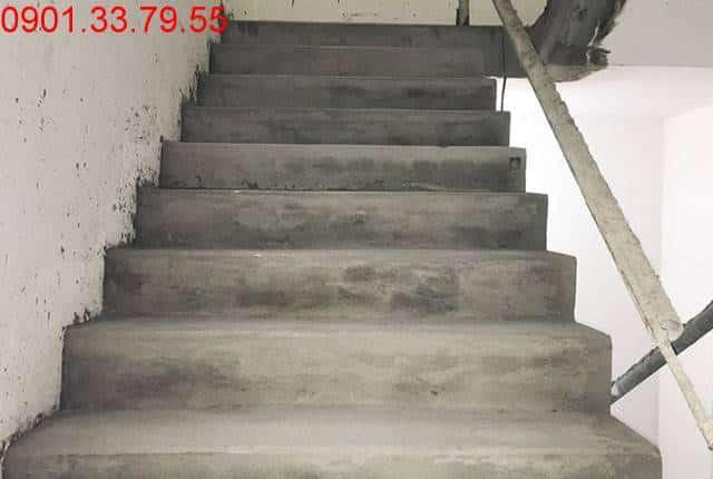 Công tác tô cầu thang bộ từ tầng 14 đến tầng 25 block A chung cư Melody Vũng Tàu Hưng Thịnh