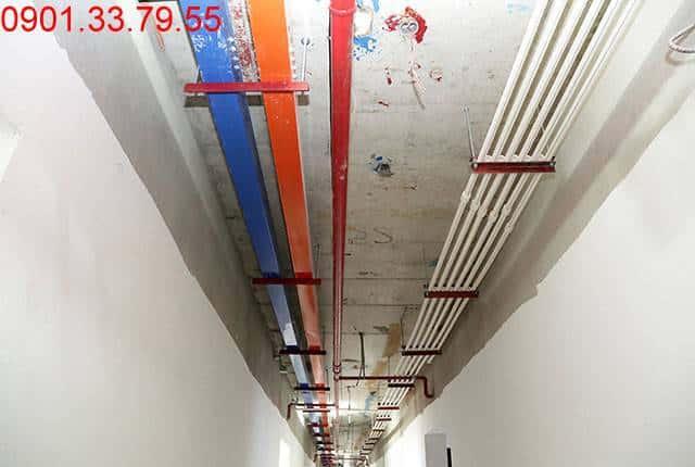 Thi công hệ thống M&E từ tầng 4 đến tầng 18 - Block D căn hộ chung cư Florita Hưng Thịnh