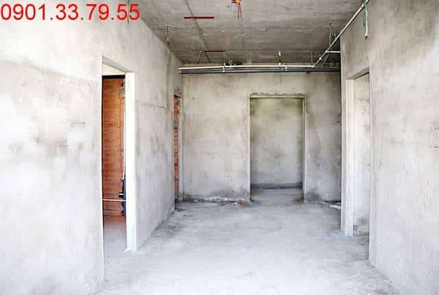 Thi công xây tô tường bên trong căn hộ đến tầng 5 - Block B & C dự án Florita HimLam quận 7