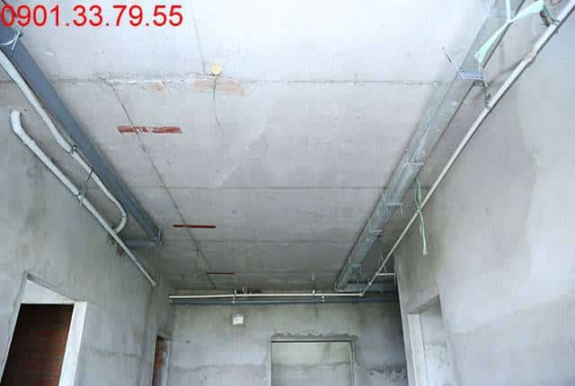 Thi công hệ thống M&E đến tầng 13 - Block D chung cư Florita HimLam quận 7