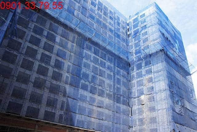 Tổng thể block B dự án Sky Center Phổ Quang