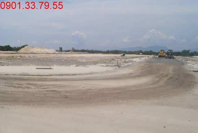 Công tác thi công đường D8 - khu D17 khu đô thị Golden Bay City