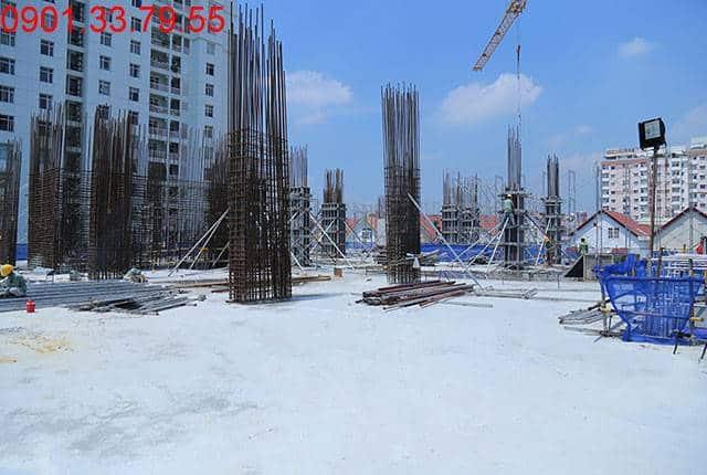 Hoàn thành đổ bê tông sàn tầng 3 - block Southern dự án Sài Gòn Mia