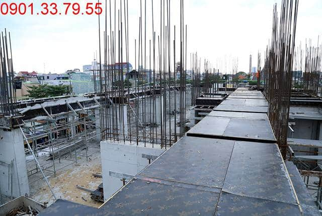 Thi công sàn kỹ thuật block A,B căn hộ Monlight Park View Hưng Thịnh