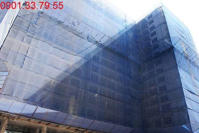 Tổng thể block D dự án Sky Center Hưng Thịnh