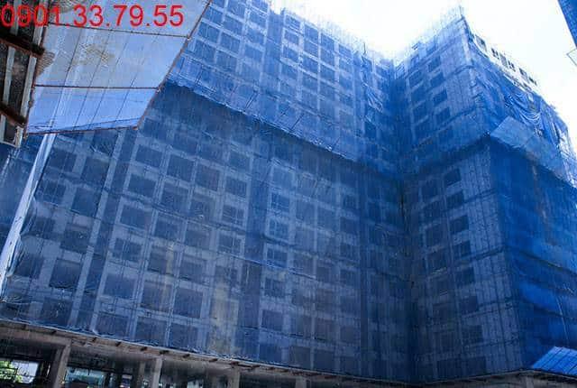 Tổng thể block D chung cư Sky Center