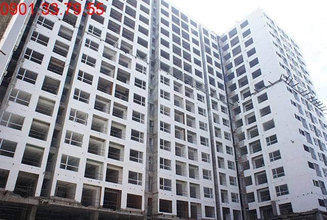 Tổng thể block D dự án Sky Center Tân Bình