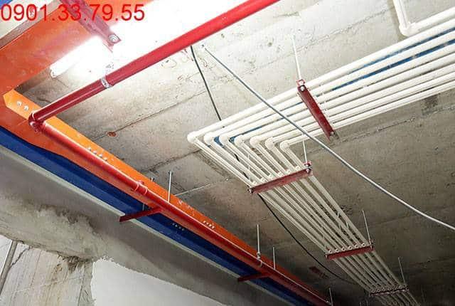 Thi công hệ thống M&E từ tầng 4 đến tầng 18 - Block A căn hộ florita quận 7