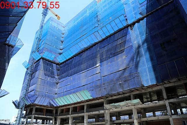 Tổng thể Block B dự án chung cư Florita quận 7