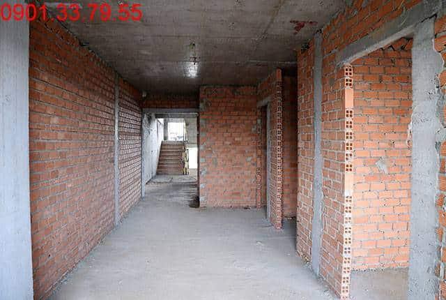 Xây tường bao căn hộ tầng 11 Block A dự án Lavita Garden Thủ Đức
