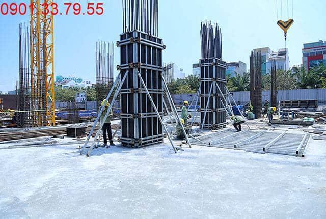 Hoàn thành đổ bê tông sàn tầng 1 - block Central Sài Gòn Mia Hưng Thịnh