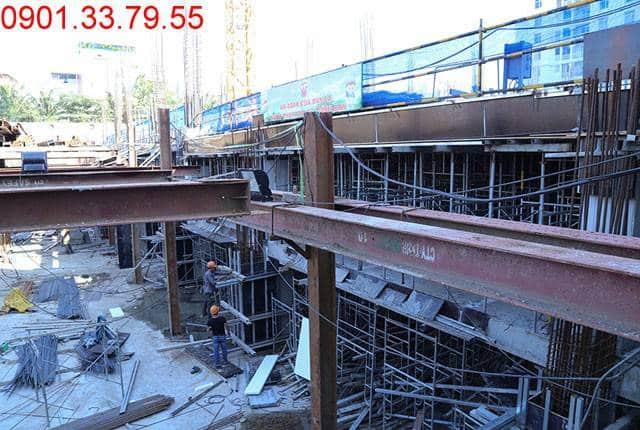 Thi công sàn tầng hầm 2 - block Central Sài Gòn Mia Trung Sơn