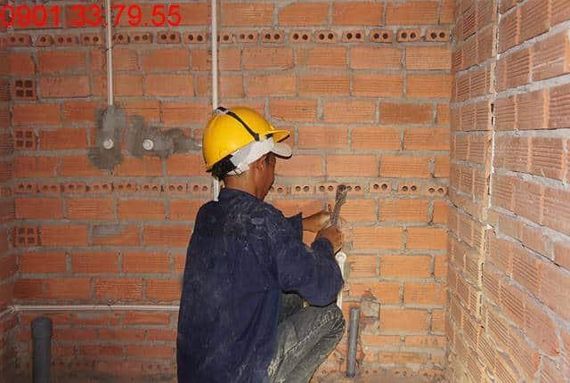 Thi công hệ thống M&E tầng 14 block C, D căn hộ Sky Center Phổ Quang