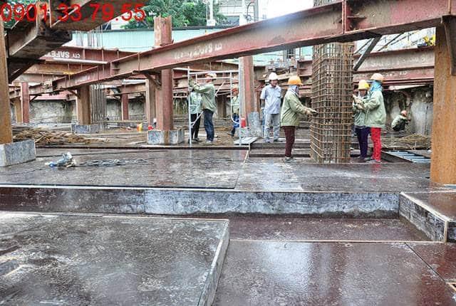 Thi công 40% cốp pha dầm sàn tầng B1 - block Southern dự án căn hộ Saigon Mia