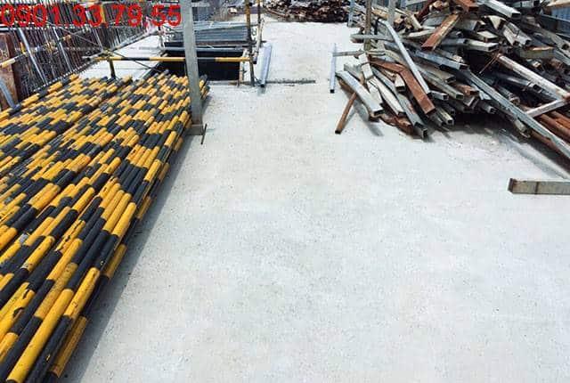Đổ bê tông sàn tầng 1 - block Northern chung cu Saigon Mia Trung Sơn