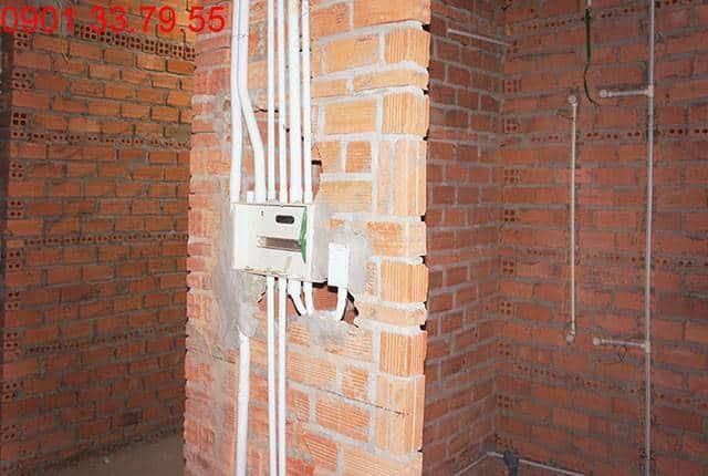 Thi công hệ thống M&E tầng 11 block A, B chung cư Sky Center Phổ Quang