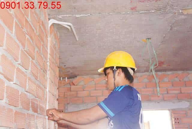 Thi công hệ thống M&E tầng 14 block A, B chung cư Sky Center Phổ Quang