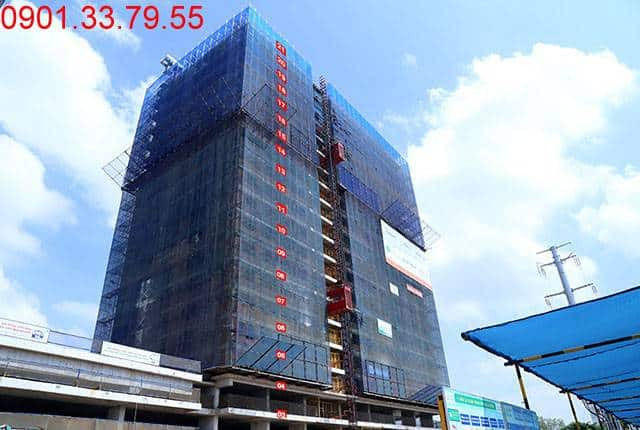 Thi công cốp pha sàn tầng 21 Block B căn hộ Lavita Garden Hưng Thịnh