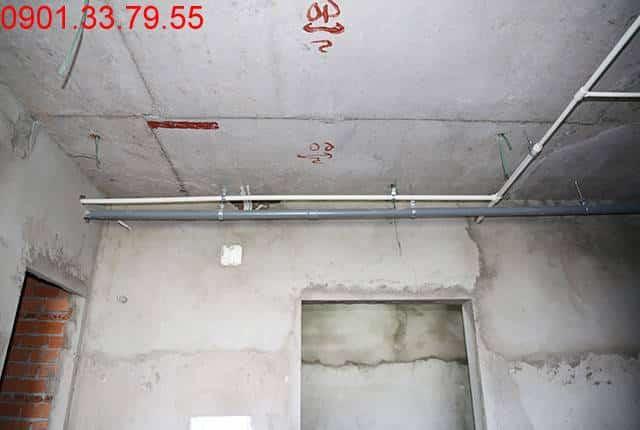 Thi công hệ thống M&E đến tầng 6 - Block B chung cư Florita HimLam