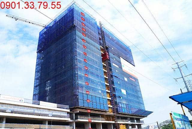 Thi công cốt thép sàn tầng 18 Block B chung cư Lavita Garden Hưng Thịnh