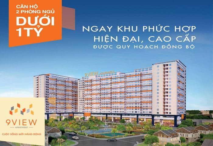 Phối cảnh dự án 9View apartment Hưng Thịnh tại đường Tăng Nhơn Phú quận 9