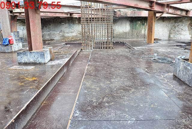 Thi công 40% cốp pha dầm sàn tầng B1 - block Southern dự án Saigon Mia Hưng Thịnh