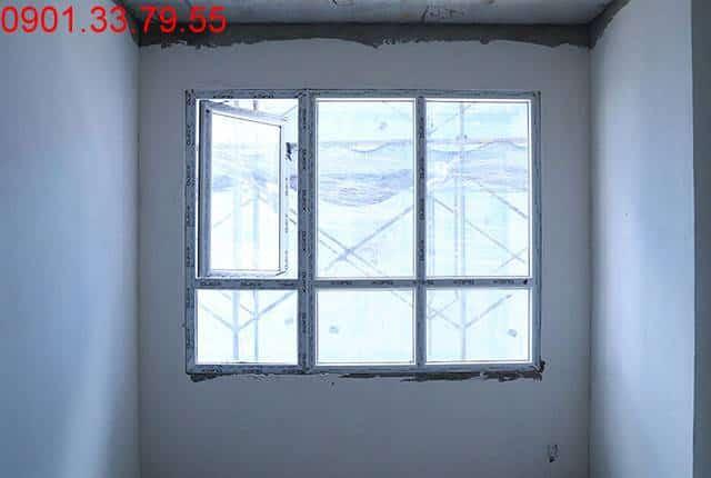 Lắp đặt cửa nhôm căn hộ tầng 5 đến tầng 8 - Block B dự án căn hộ florita Him Lam