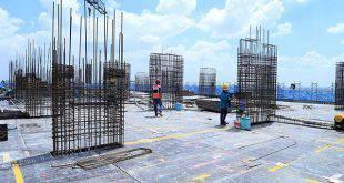 Thi công cốp pha sàn tầng 21 Block B dự án Lavita Garden Hưng Thịnh