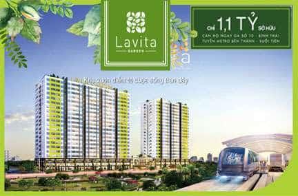 Phối cảnh dự án Lavita Garden