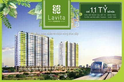 Phối cảnh dự án Lavita Garden Thủ Đức chủ đầu tư Hưng Thịnh