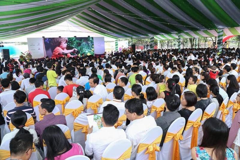 Các sự kiện mở bán dự án của Hung Thinh Corp luôn thu hút hàng ngàn khách hàng tham dự