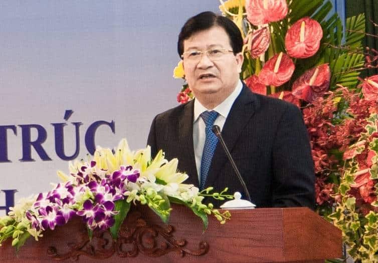 Ông Trịnh Đình Dũng Bộ trưởng Bộ Xây dựng